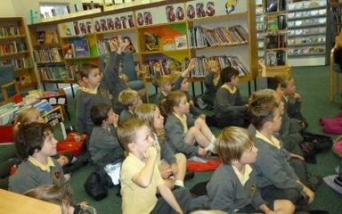 Year 2 love books!