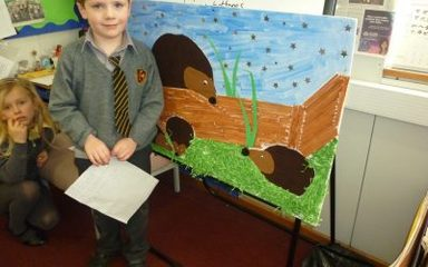 Year 2 learn about nocturnal animals