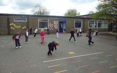 P.E. is fun in Year One!
