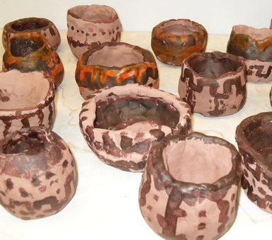 Look At Y5's Greek Style Pottery!