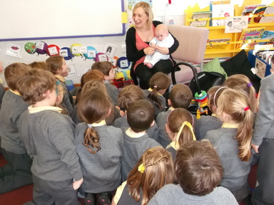A special little visitor in Year One
