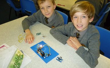 Year 6 Electronics with Emmanuel