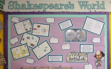 Year 6 explore Shakespeare's World