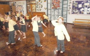 Sponsored Dancing for NSPCC
