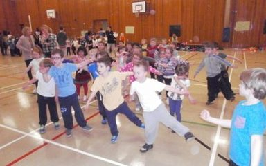 Dance Festival at Whickham School with Year One