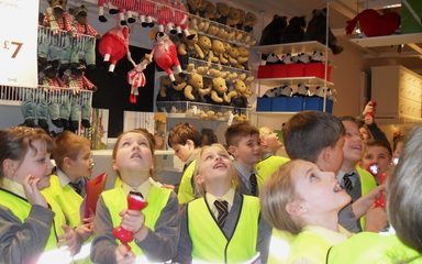 Y5 does an eco tour of IKEA!
