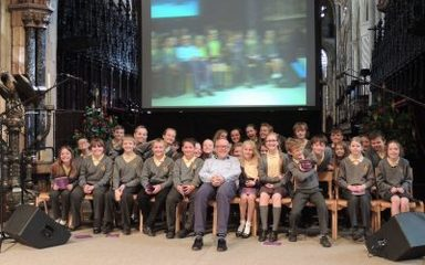 Year 6 Commemorate Historic Moment