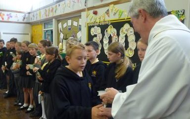 A very special Eucharist to end the term