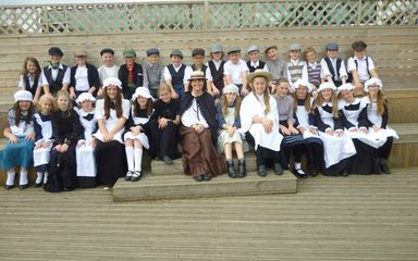 Year 6 go to Beamish