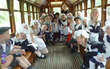 Reception visit Beamish