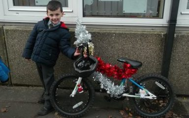 'Bling your Bike' winners in Year One