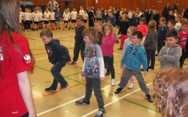 Year One attend Whickham School's Dance Festival