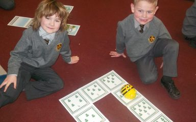 Using Bee Bots in Year 1