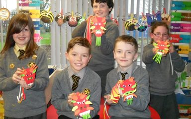 Celebrating Chinese New Year in Y5