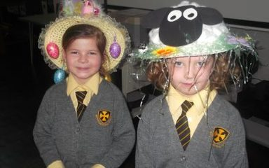 Eggs-tra Special Easter Bonnets in Year 1!