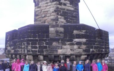 Year One's visit to Newcastle Castle