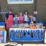 "The ""Flour Power"" team raring to go!"