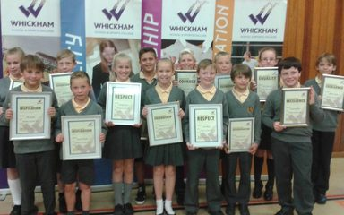 Whickham Cluster Awards