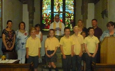 Y6 Baptism at St Mary's
