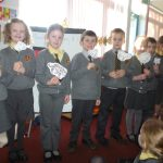 Year 2 acted out the Chinese New Year story of the animals.