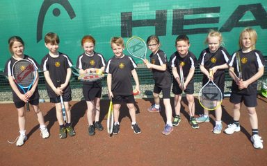 Y3 Mini-tennis success!