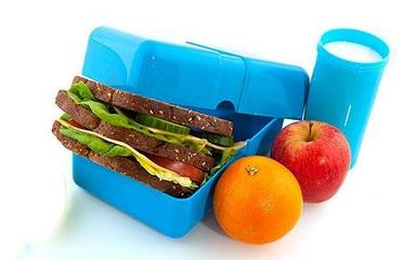 Healthier Packed Lunches for Children