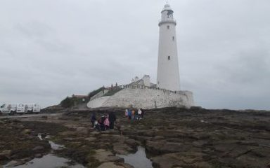 Year One's great day out at St Mary's Island