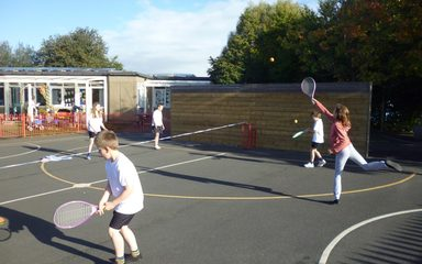 Tennis and Trumpets in Year 5