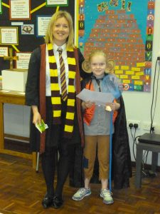 The Year Four winner - Lily Commons