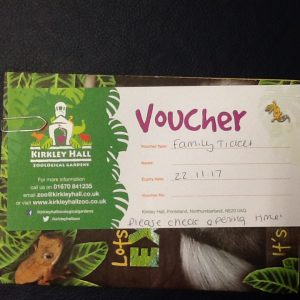 Kirkley hall voucher