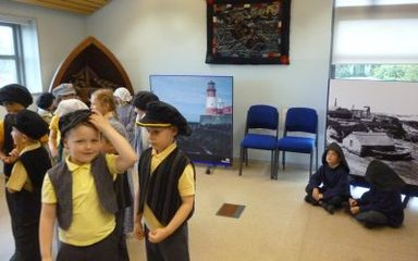 Year 1 visit the Grace Darling Museum.